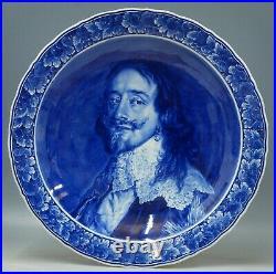@ PERFECT @ Porceleyne Fles handpainted blue & white Delft charger v. Dijck 1949