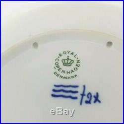 Rare Antique Royal Copenhagen Denmark 1944 Blue & White Christmas Plate Vintage