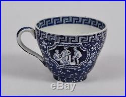 Rare COPELAND SPODE Blue & White'Greek' TRIO 1940 Cup Saucer Plate No. 639277