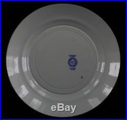 Ridgways THE PASSOVER. Jewish Hebrew Blue & White Transfer-ware SEDER PLATE