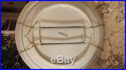 Sadek Japan Blue & White Decorative Centerpiece Wall Cabinet Bowl Plate Dish 12
