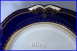 Spode Lancaster-Cobalt (White Body) Dinner Plate Excellent Condition