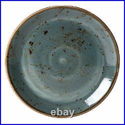 Steelite Craft Coupe Plate Blue 11.75 / 30cm -x12- Vitrified Crockery Plates