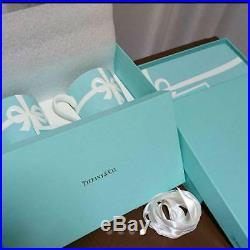 Tiffany & Co. Pair of Mugs & Square Plate Blue Box White Ribbon Bone China