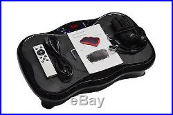 Ultra Compact Slim Crazy Fit Oscillating Vibration Power Massage Fitness Plate