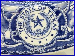 University of Texas Wedgwood Dinner Plate Blue & White Main Building Buy It Now