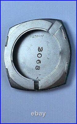 Vintage Bulova Watch Diamonds Blue Dial Mint 10k Rolled Gold Plate 1970
