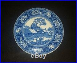 Wedgwood Fallow Deer Blue White Dinner Plate 10 Etruria England