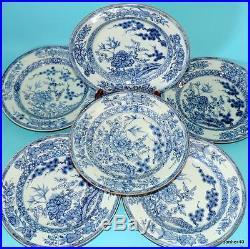 Wonderful 18thc Antique Chinese Porcelain Blue White Kangxi Qianlong Plates